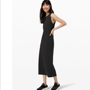 Lululemon All Aligned Black Dress, 6